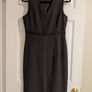 Suzy Shier Black Fitted Dress
